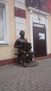 Памятник В.Теркину (г Гвардейск)
